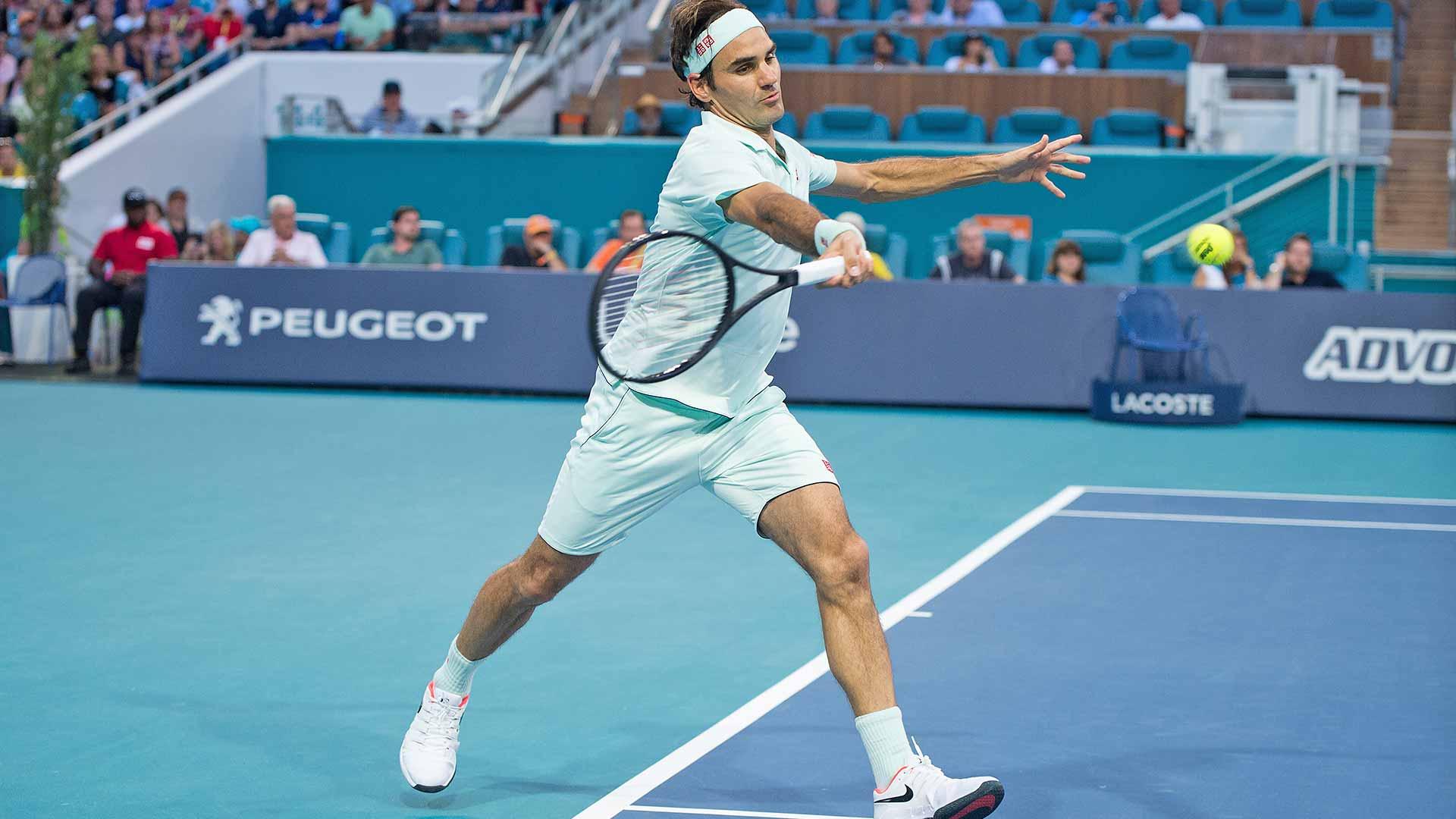 Federer Miami 2R 19