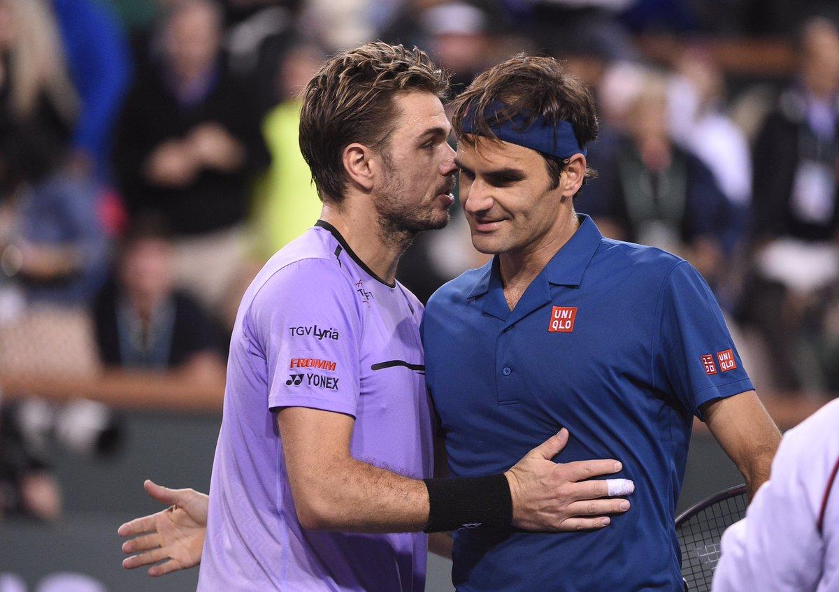 Federer Wawrinka IW 2019