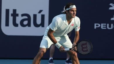 Federer vs Albot Miami Open