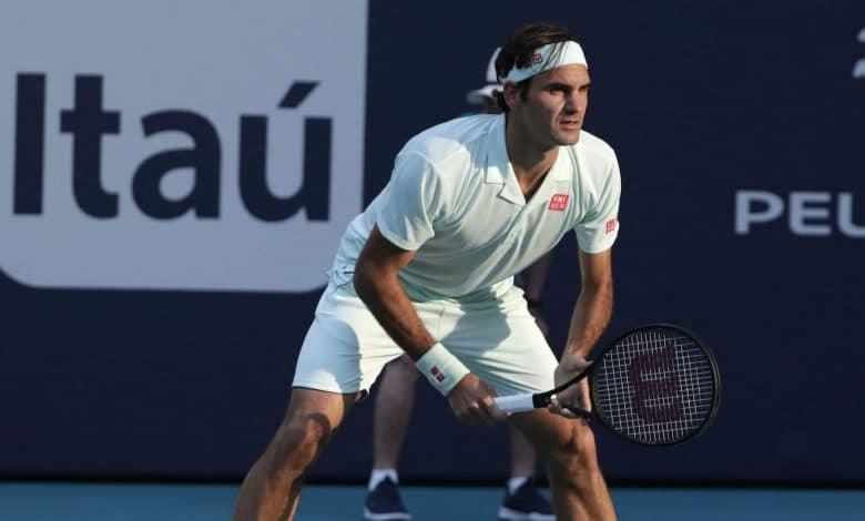 Federer vs Albot Miami Open