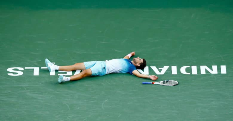 Thiem Defeat Federer Indian Wells 2019