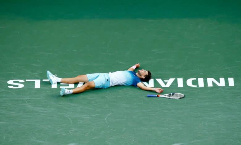 Thiem Defeat Federer Indian Wells 2019
