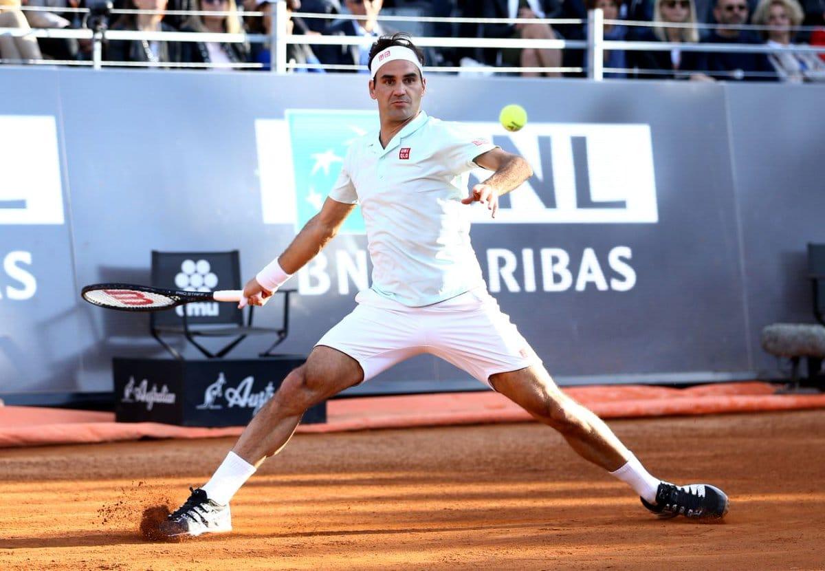 Federer Coric Rome 2019