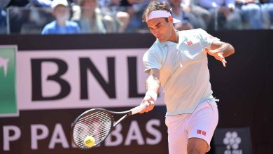 Photo of Federer Fights Through Coric at Internazionali BNL d'Italia