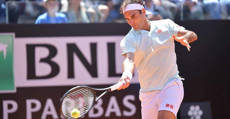 Federer Coric Rome 3R