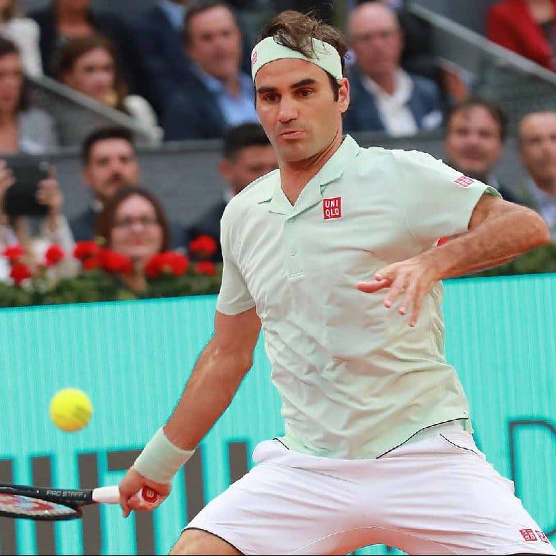 Federer Madrid 2R Gasquet
