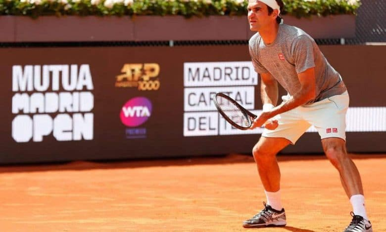 Federer Madrid Open 2019