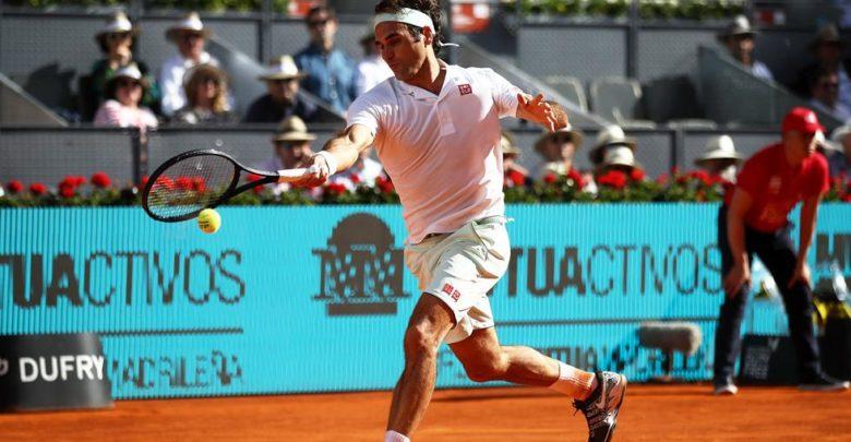 Federer Madrid QF 2019