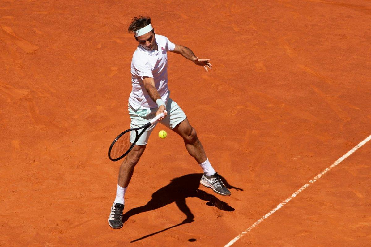Federer Monfils Madrid
