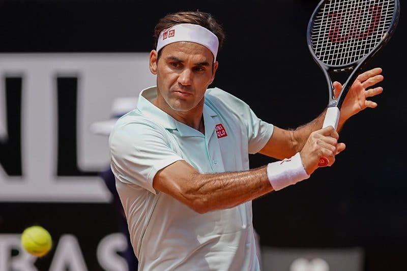 Federer Rome 2R 2019