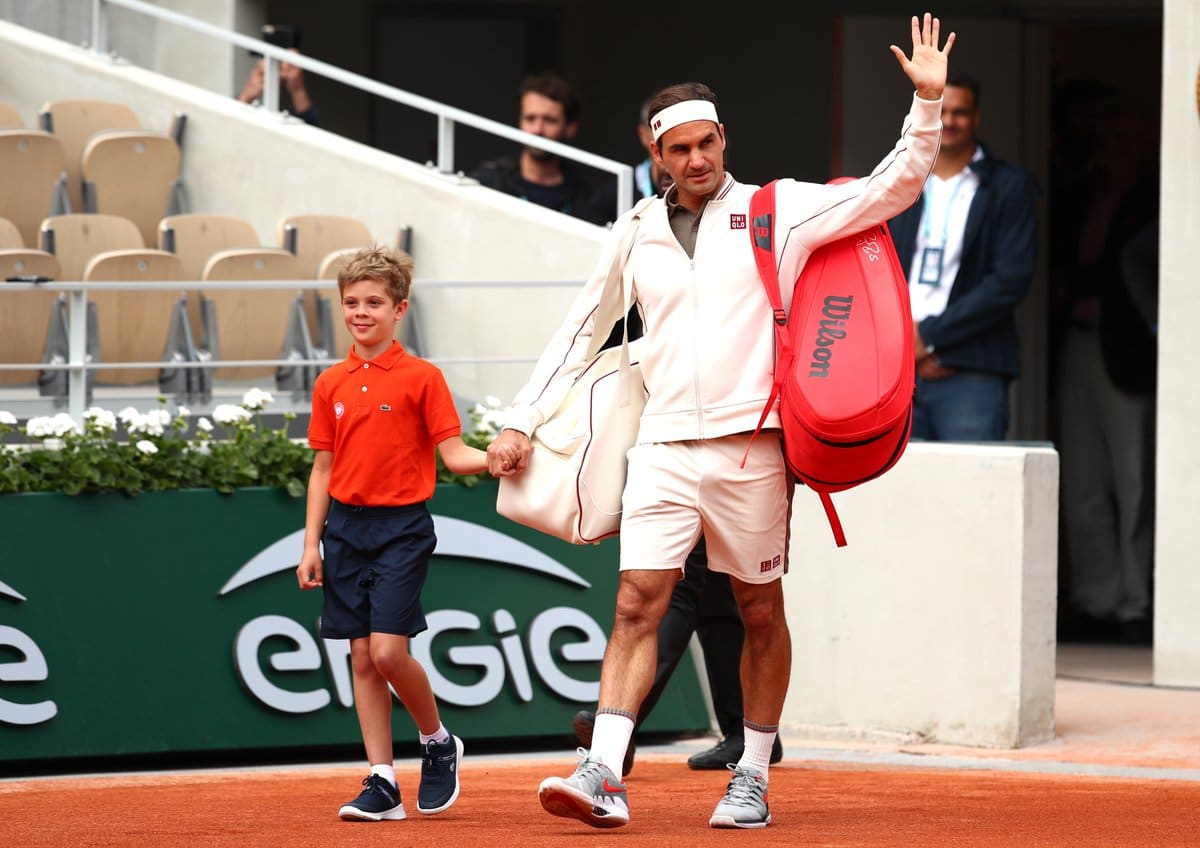 Federer Sonego French Open