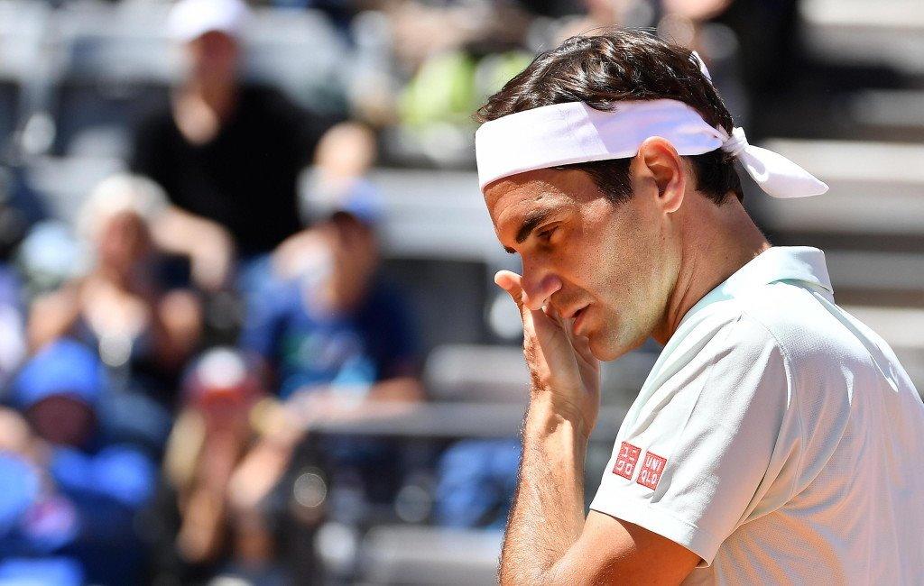 Federer Sousa Rome
