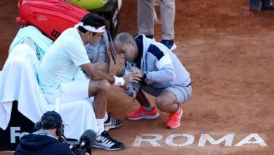 Photo of Roger Federer Withdraws From Rome Masters Quarter Final