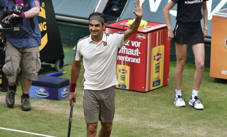 Federer Agut Halle 19