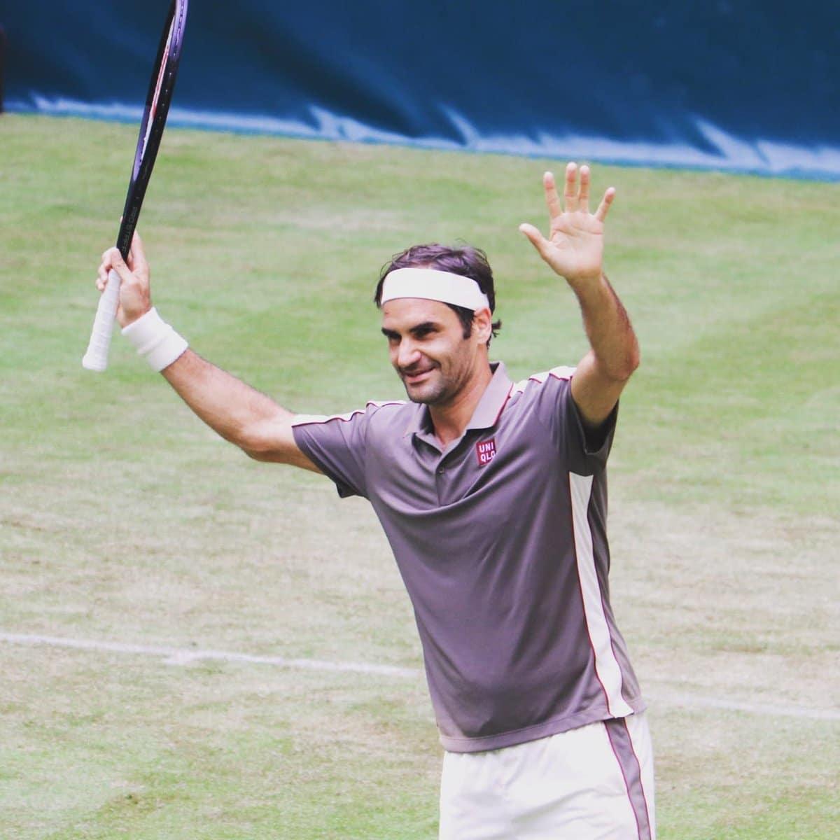 Federer Halle 1R 2019