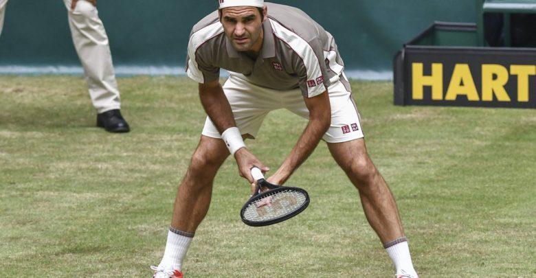 Federer Millman Halle