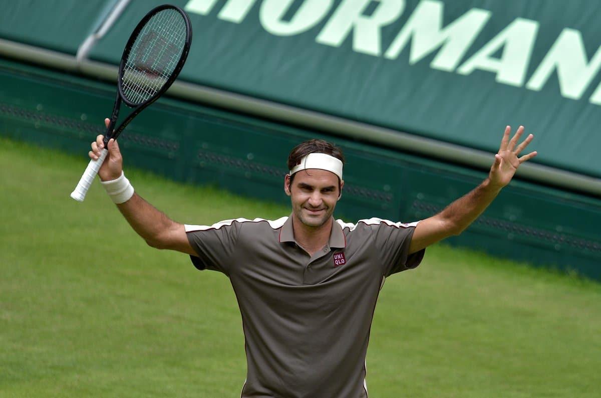 Federer Tsonga Halle 2019