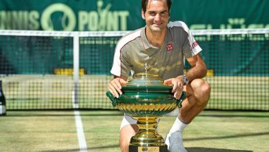 Photo of Federer Storms to 10th Halle Title
