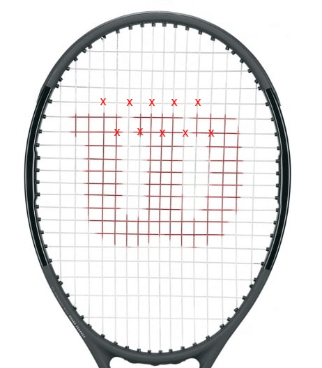 Federer String Saver Pattern