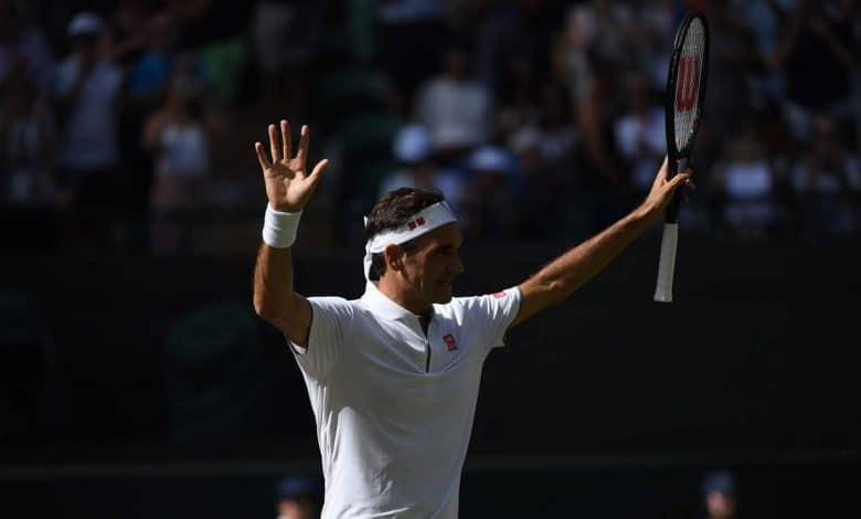 Fed Clarke Wimbledon