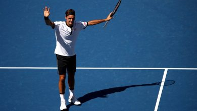 Photo of Federer Eases Past Evans into US Open Fourth Round