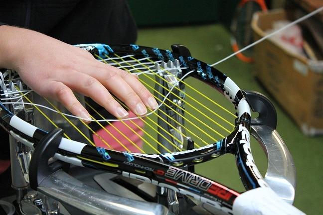 hybrid stringing