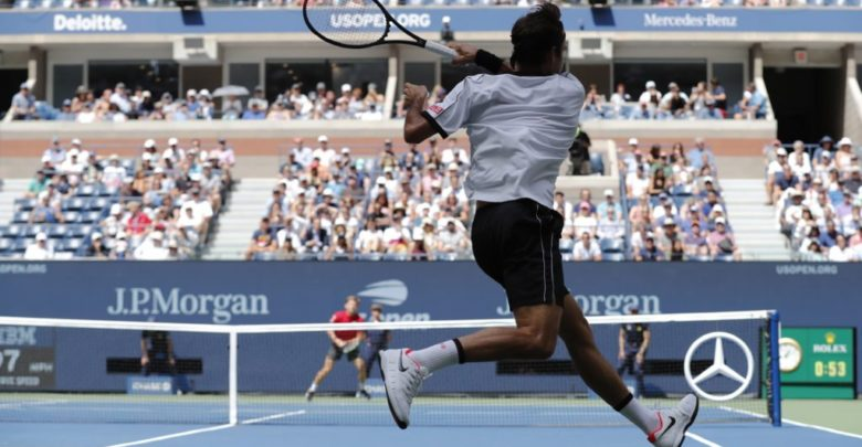 Federer Gives Goffin Drubbing in US Open Fourth Round