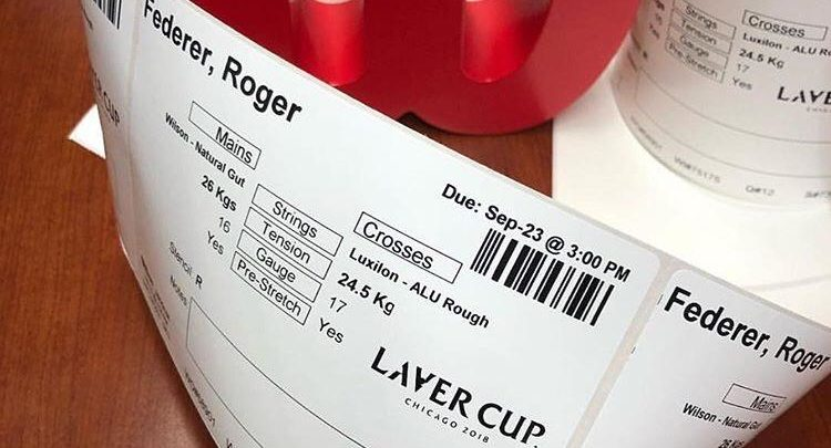 Federer String Tensions