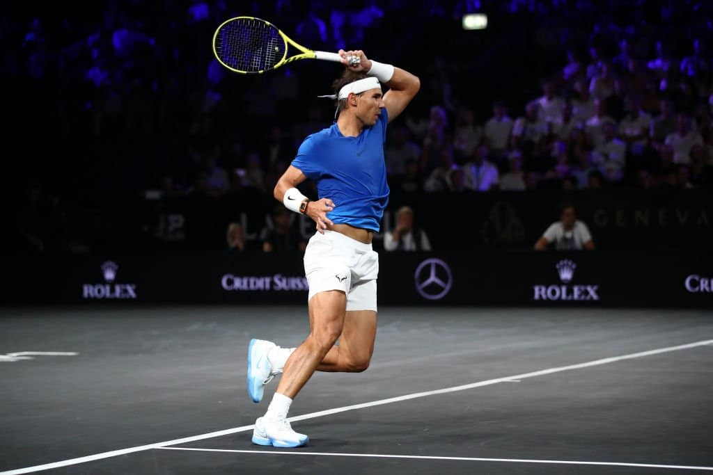 Nadal Raonic Laver Cup 2019