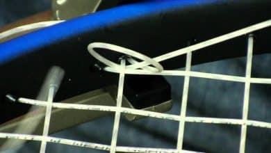 tennis tie off knots