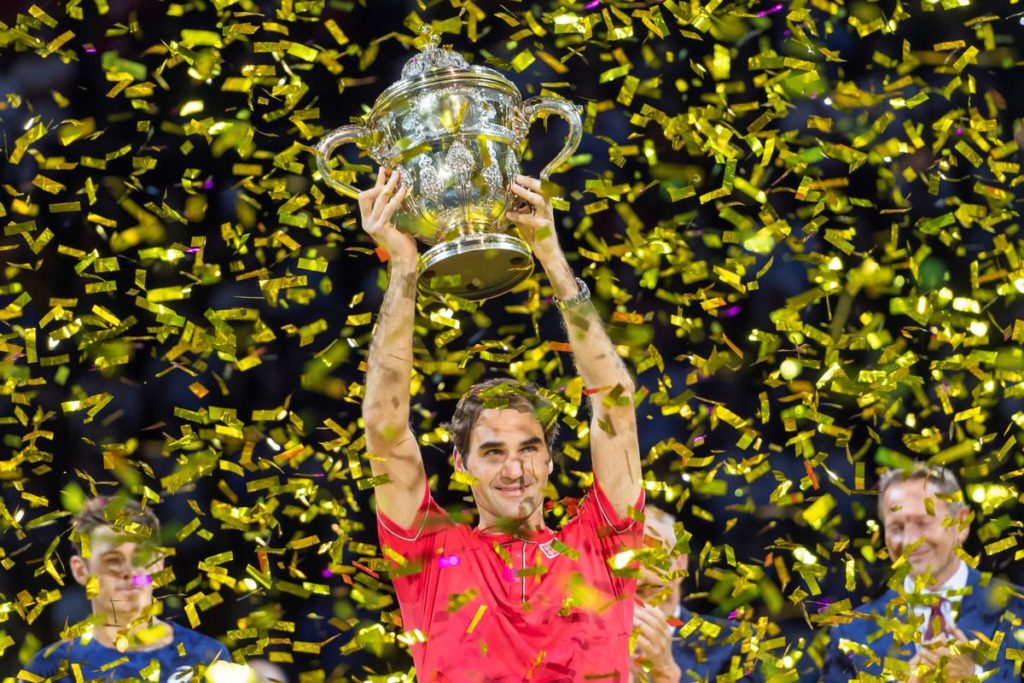 Federer 10th Basel Win