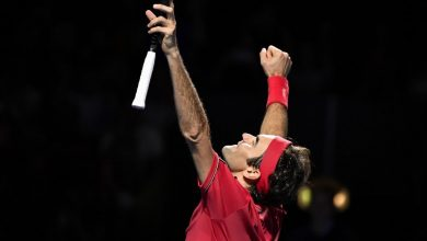 Photo of PeRFect 10 in Basel for Roger Federer