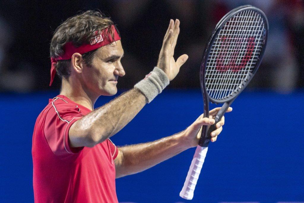 Federer Gojowyczk Basel 19