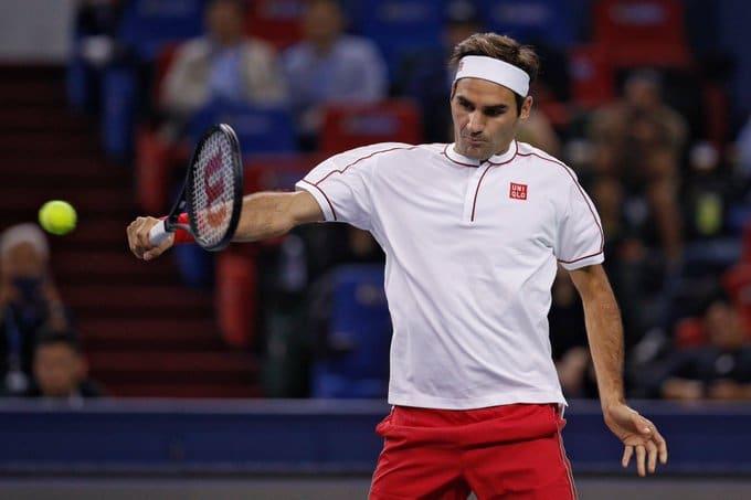 Federer R16 Shanghai 2019