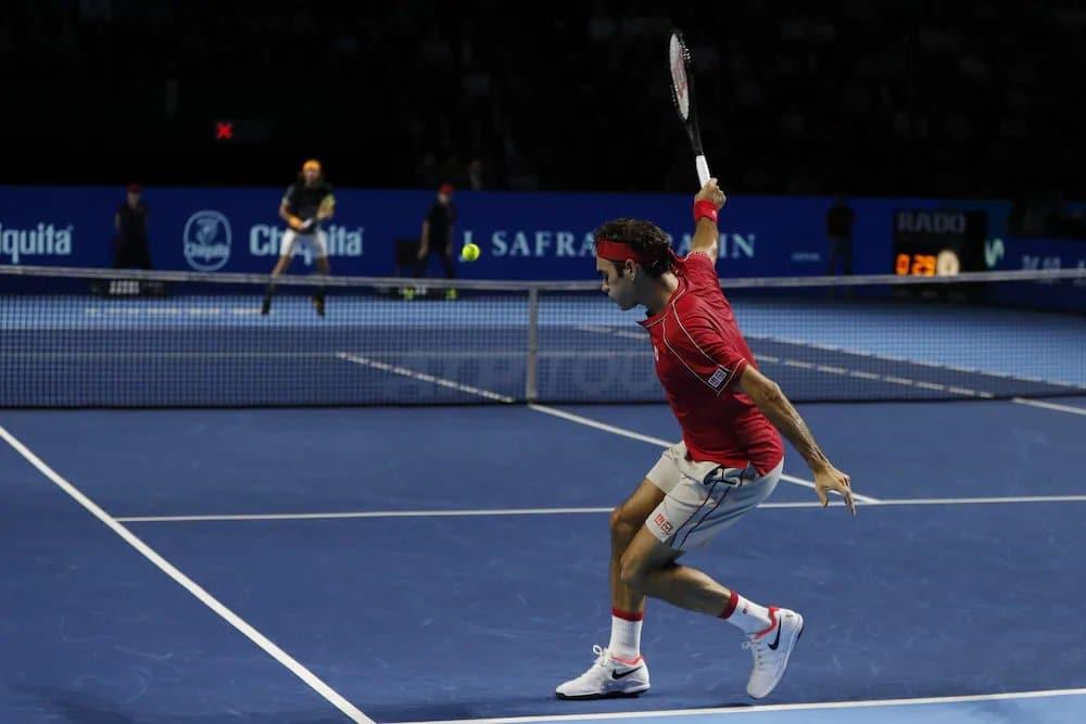 Federer Tsitsipas Basel 2019 1