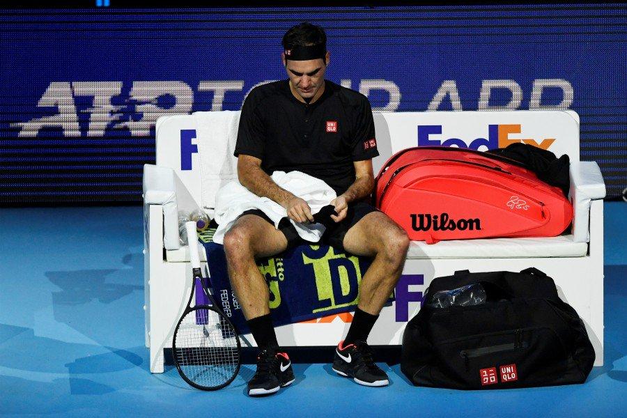 Federer Tsitsipas Atp Finals 2019