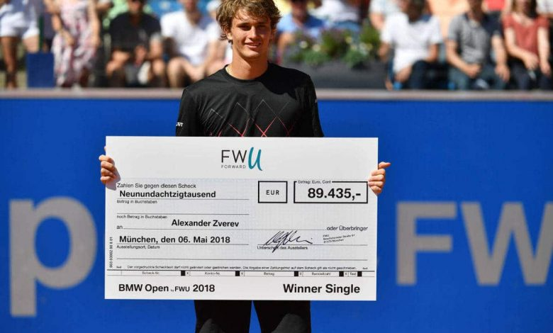 Prize Money In Tennis