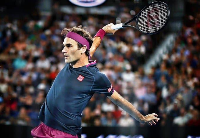 Federer 1st Rd Ao 2020