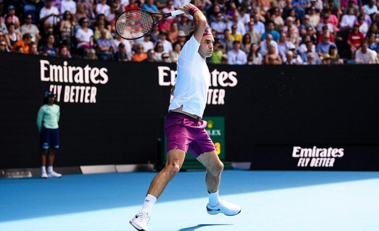 Federer Ao 2020 Qf Sandgren