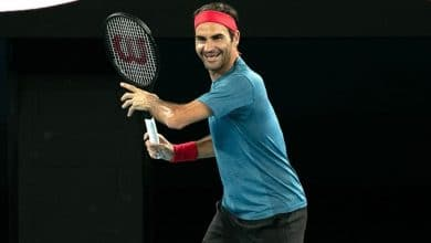 Photo of Roger Federer's Outfit for the Australian Open 2020