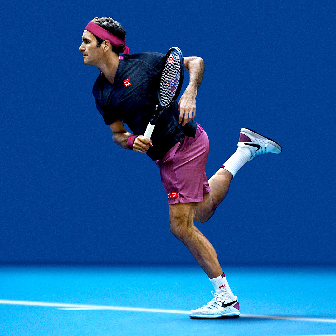 Roger Federer's Outfit for the Australian Open 2020