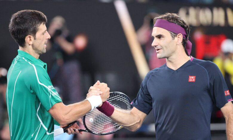 Federer Djokovic Ao 2020
