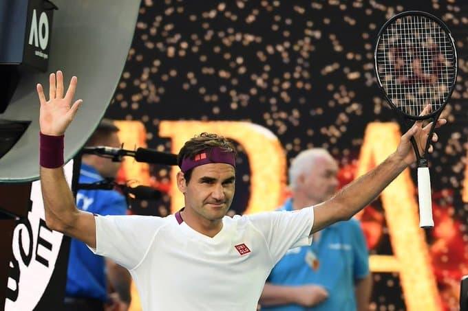 Federer Sandgren Ao 2020