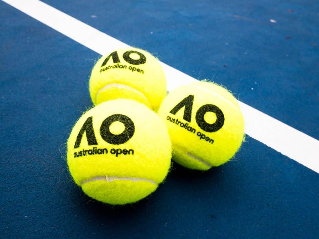 Aus Open Dunlop Balls