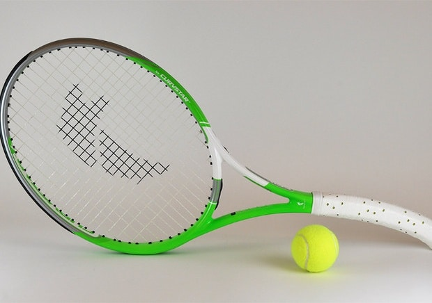 Curved Racquet
