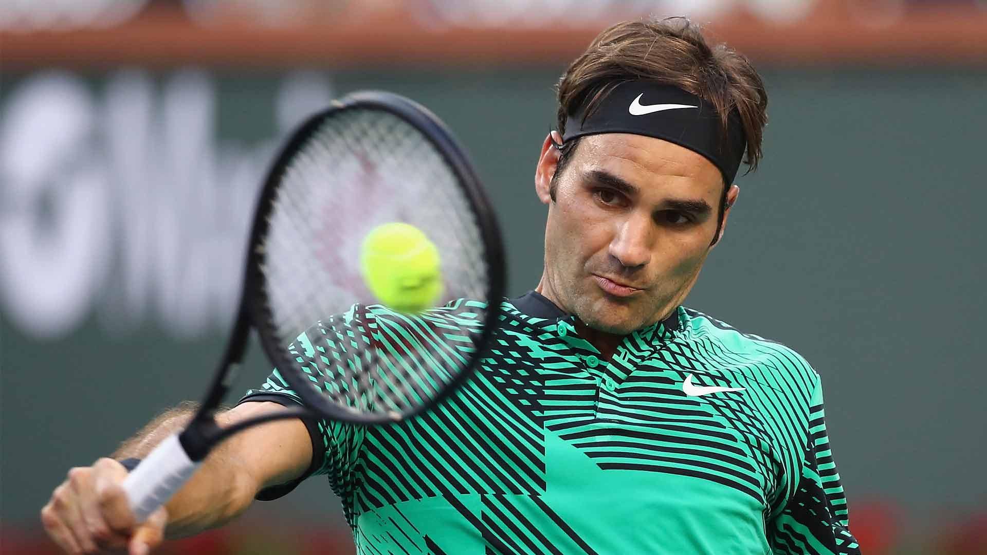 Federer Racquet Impact
