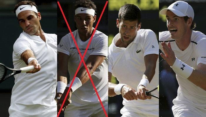 The Big Four Wimbledon