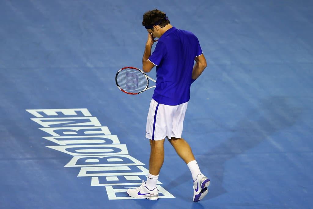 Federer Struggle