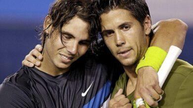 Photo of Rafael Nadal vs Fernando Verdasco, Australian Open 2009