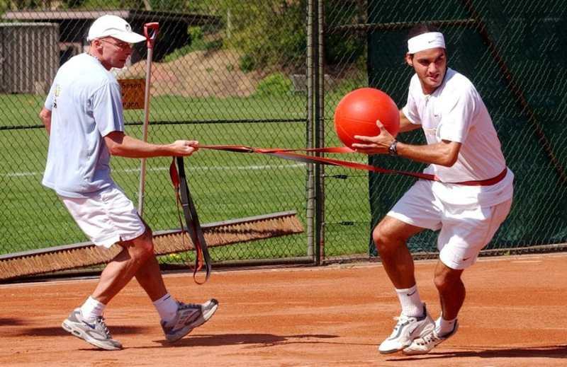 Federer Med Ball